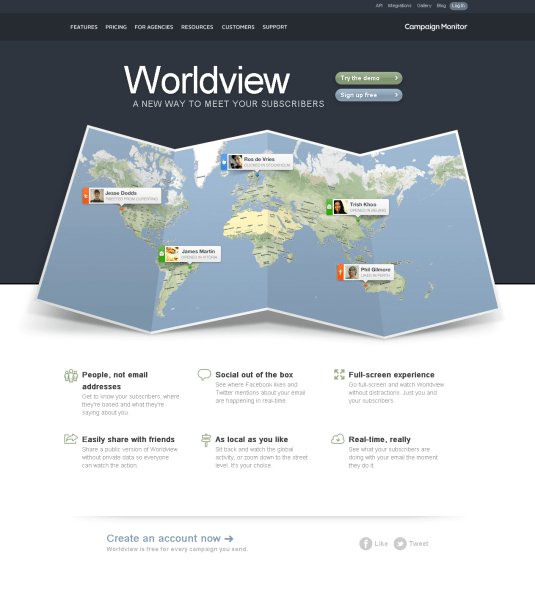 Introducing Worldview - Campaign Monitor