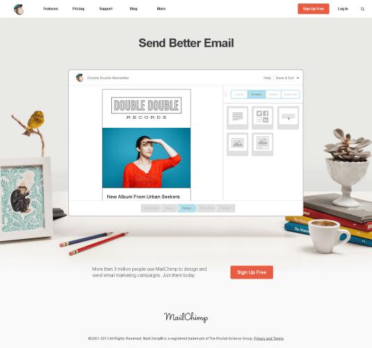 Send Better Email - MailChimp