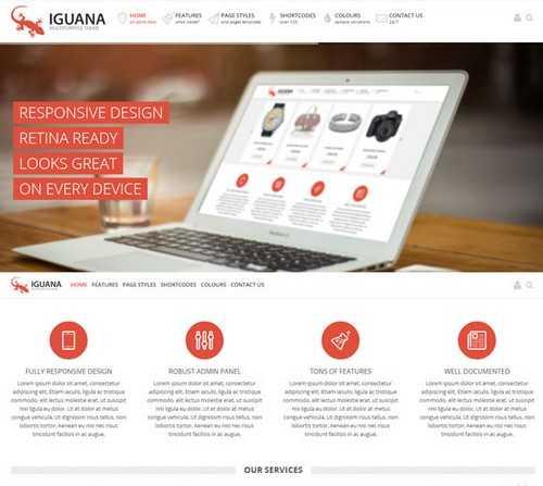 Iguana Multi Purpose Theme