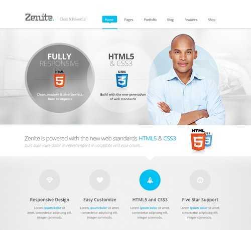 Zenite WP Business Theme
