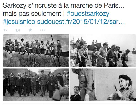 Sud_Ouest_sur_Twitter____Sarkozy_s_incruste_à_la_marche_de_Paris____mais_pas_seulement____ouestsarkozy__jesuisnico_http___t_co_JHbZ48zjOe_http___t_co_HzfzeiOdzt_