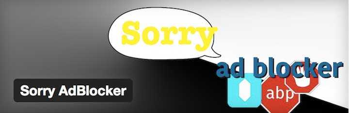 Désolé adblocker