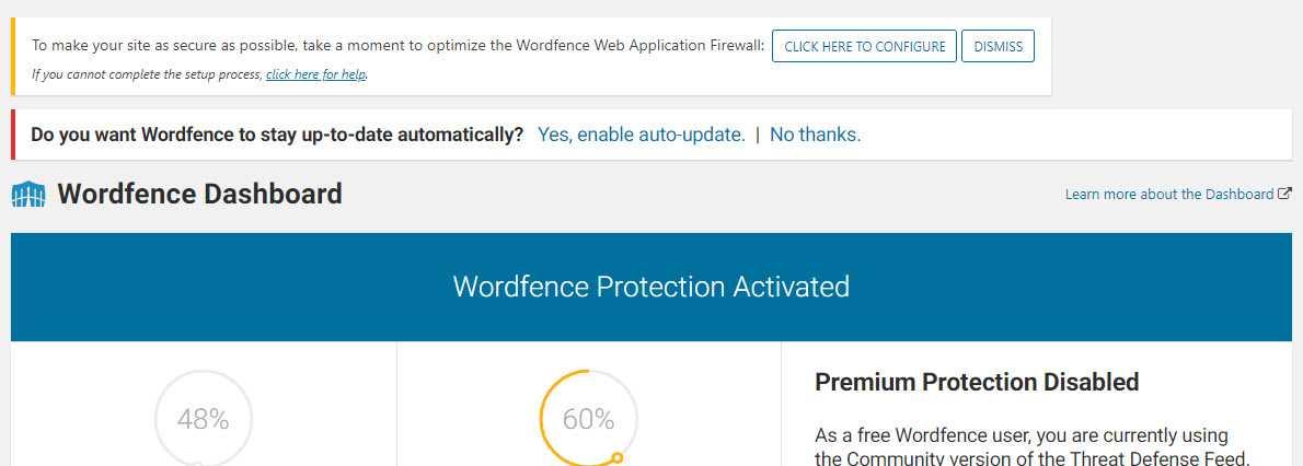 wordfence gratuit vs premium