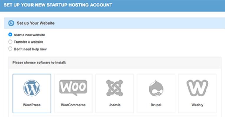 installation de wordpress dans siteground