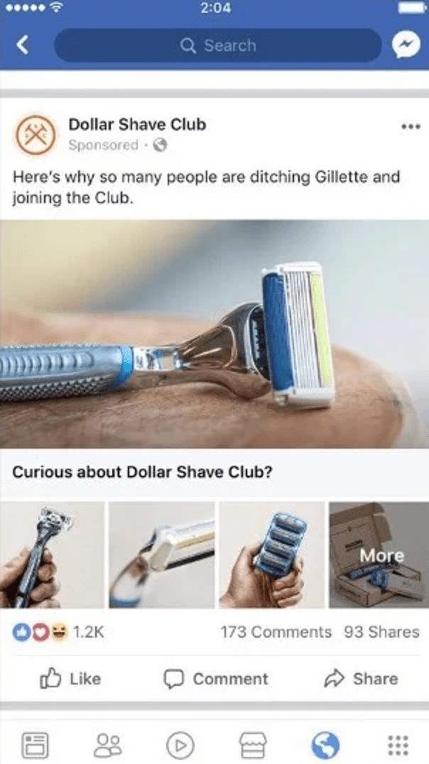 Exemples de psychographie Dollar Shave - Exemples de psychographie dans le marketing en 2020